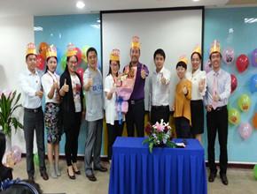 大企·北京影响力大连分公司6月生日会及创业元老三周年庆